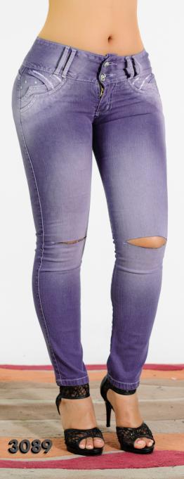 Jeans Desteñidos Valery