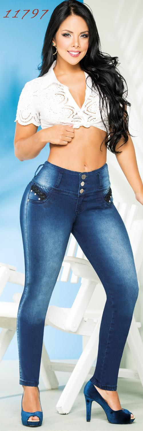Jeans Levantacola Cheviotto