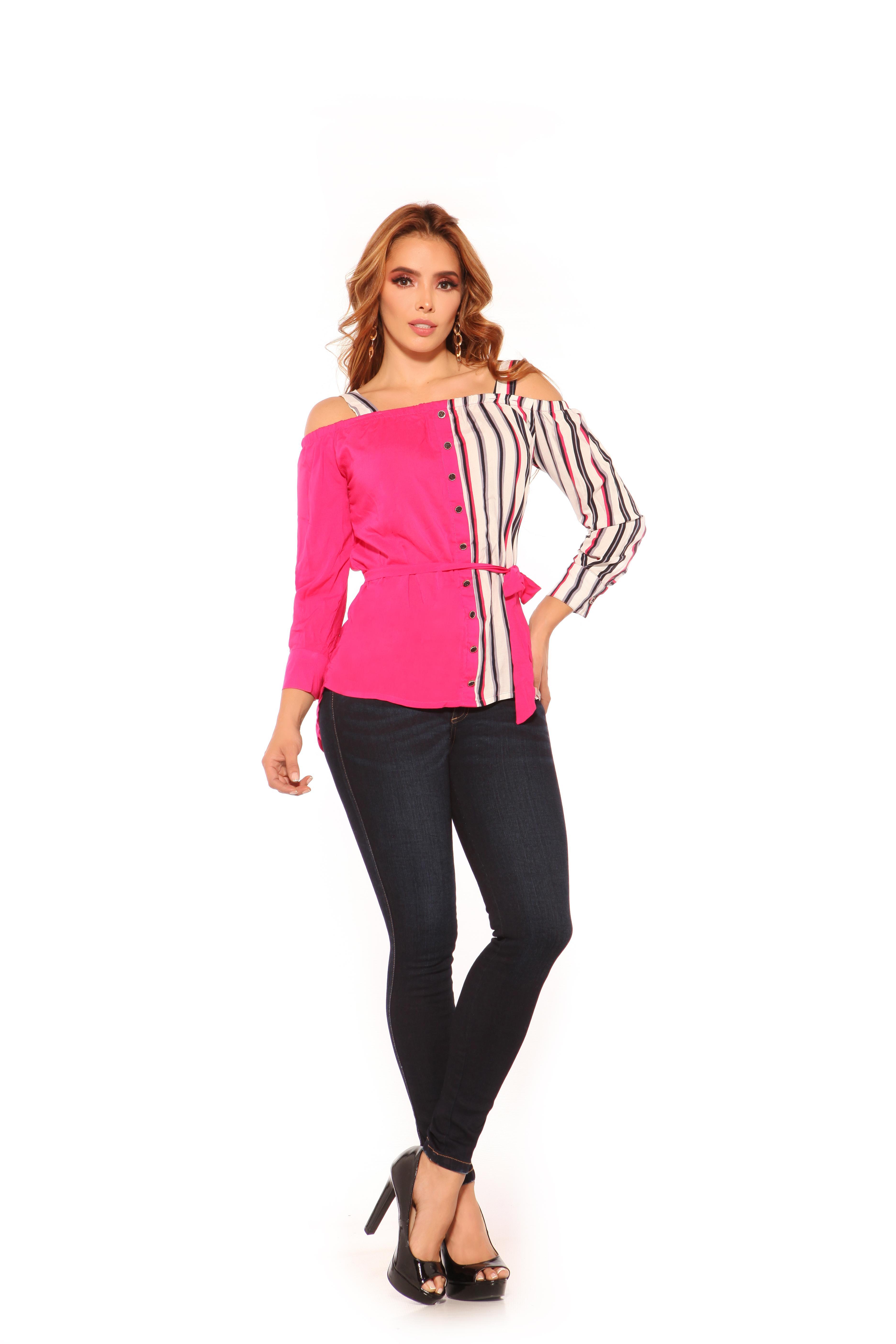 Blusa Colombiana de Moda, Colores y Diseño de Temporada