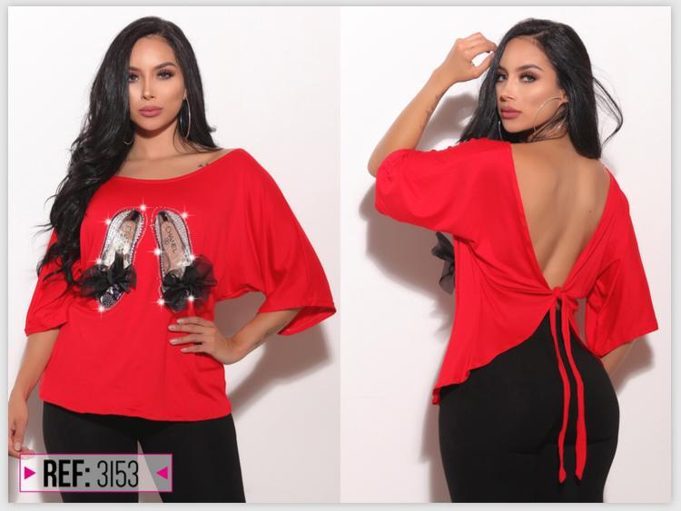 Sexy blusa colombiana manga larga