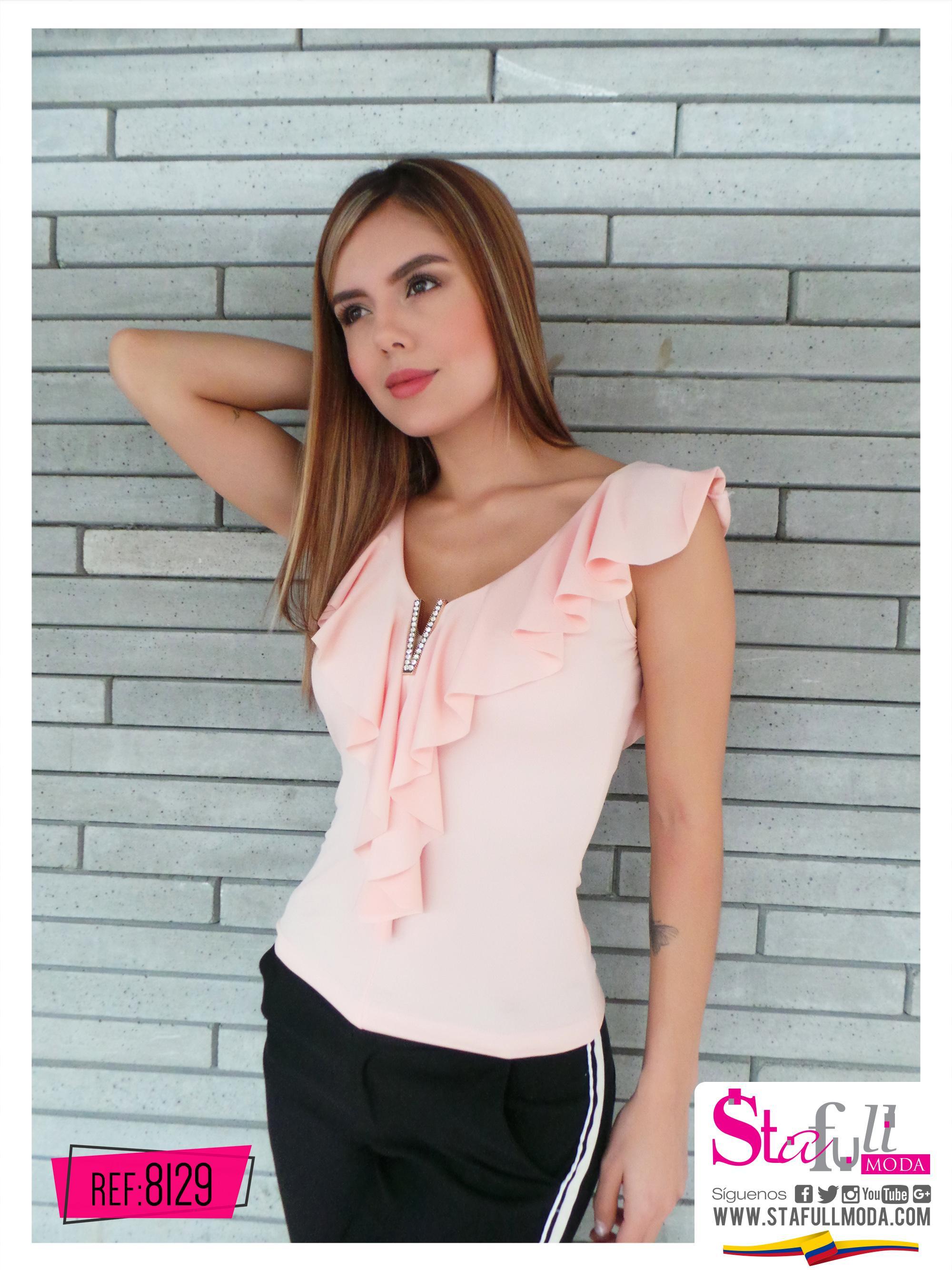 Elegante Blusa Colombiana con estilo