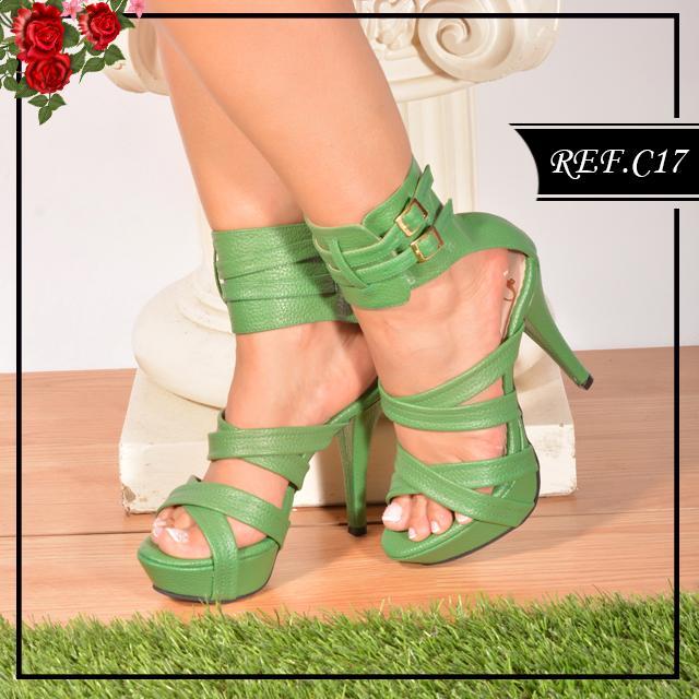 Zapato Colombiano de Tiras Artesanal