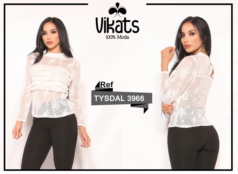 Blusa Colombiana Sexy de Moda Manga Larga