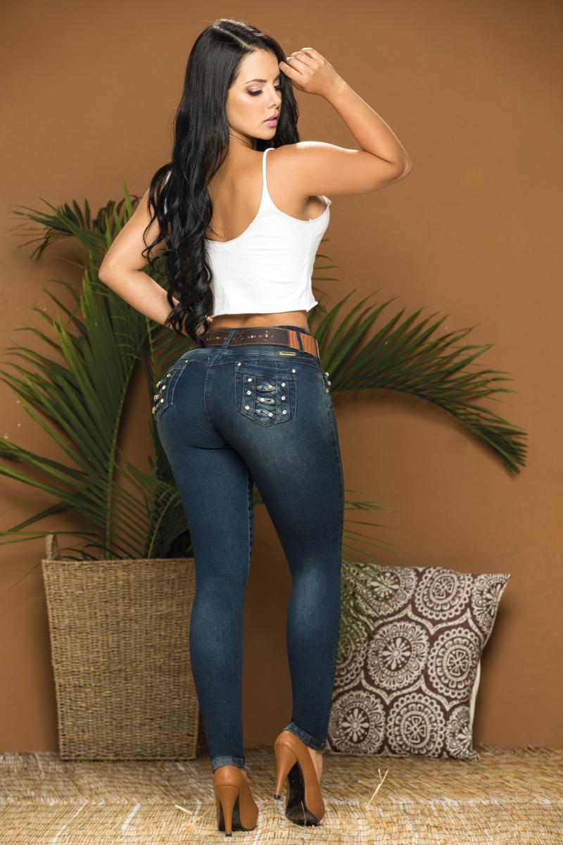 Pantalon Jean De Dama Levantacola Colombiano
