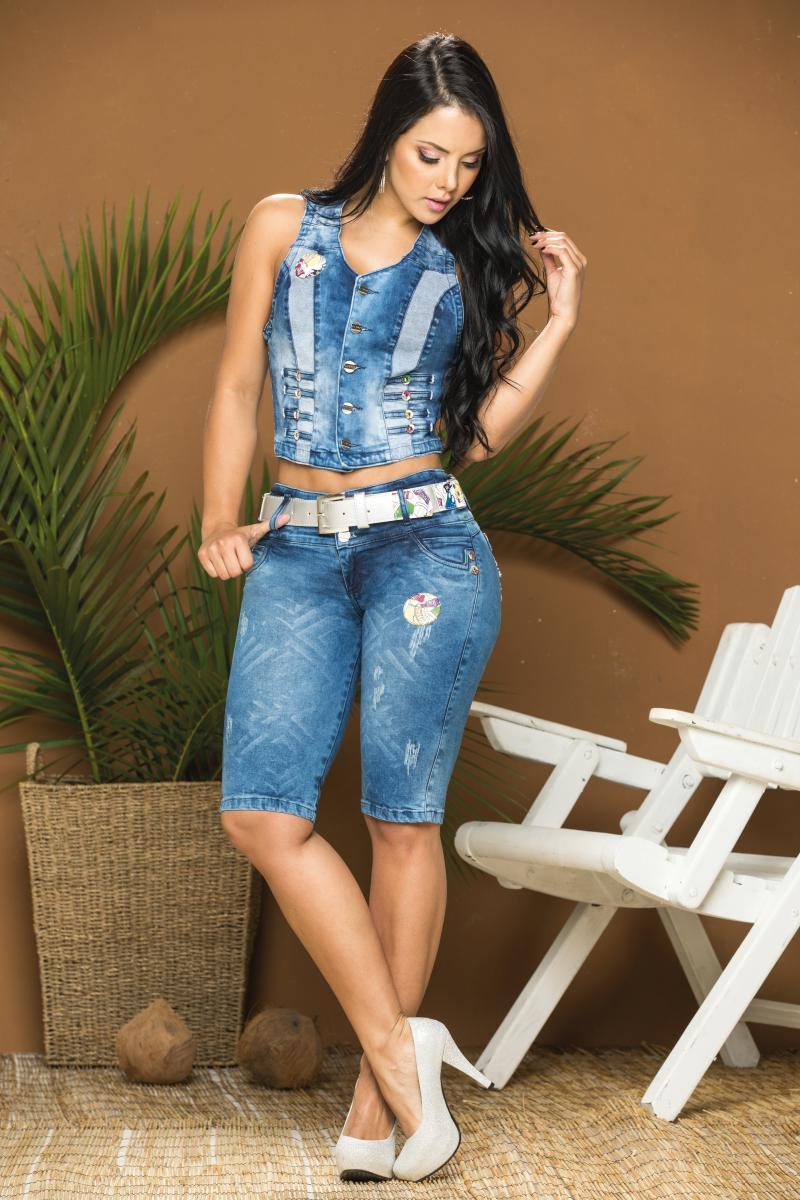 Conjunto Colombiano de Jean con Horma Perfecta