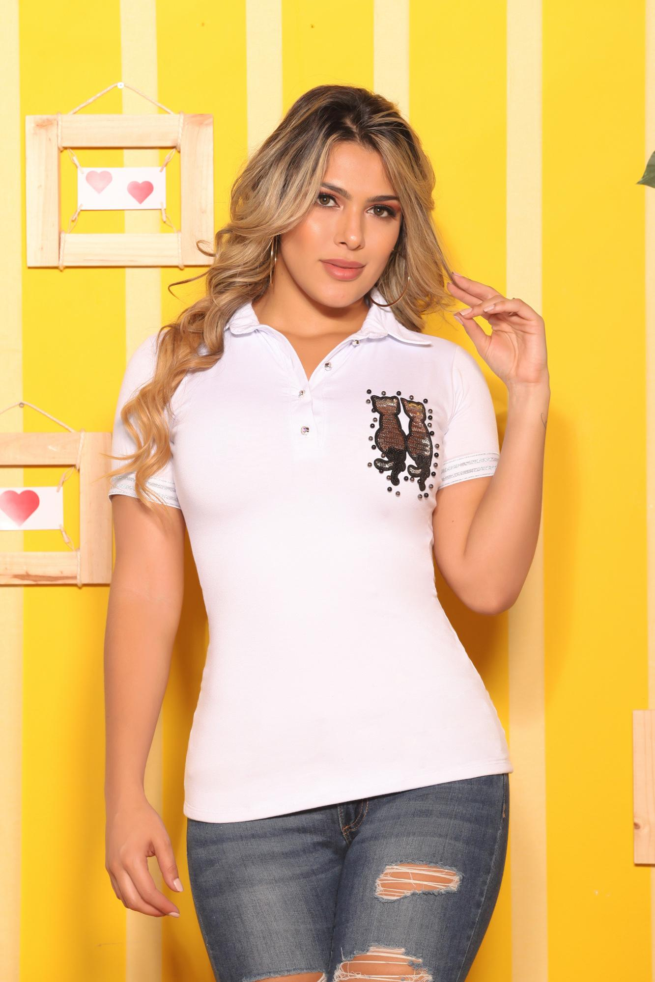 Blusa Colombiana Cereza de Moda