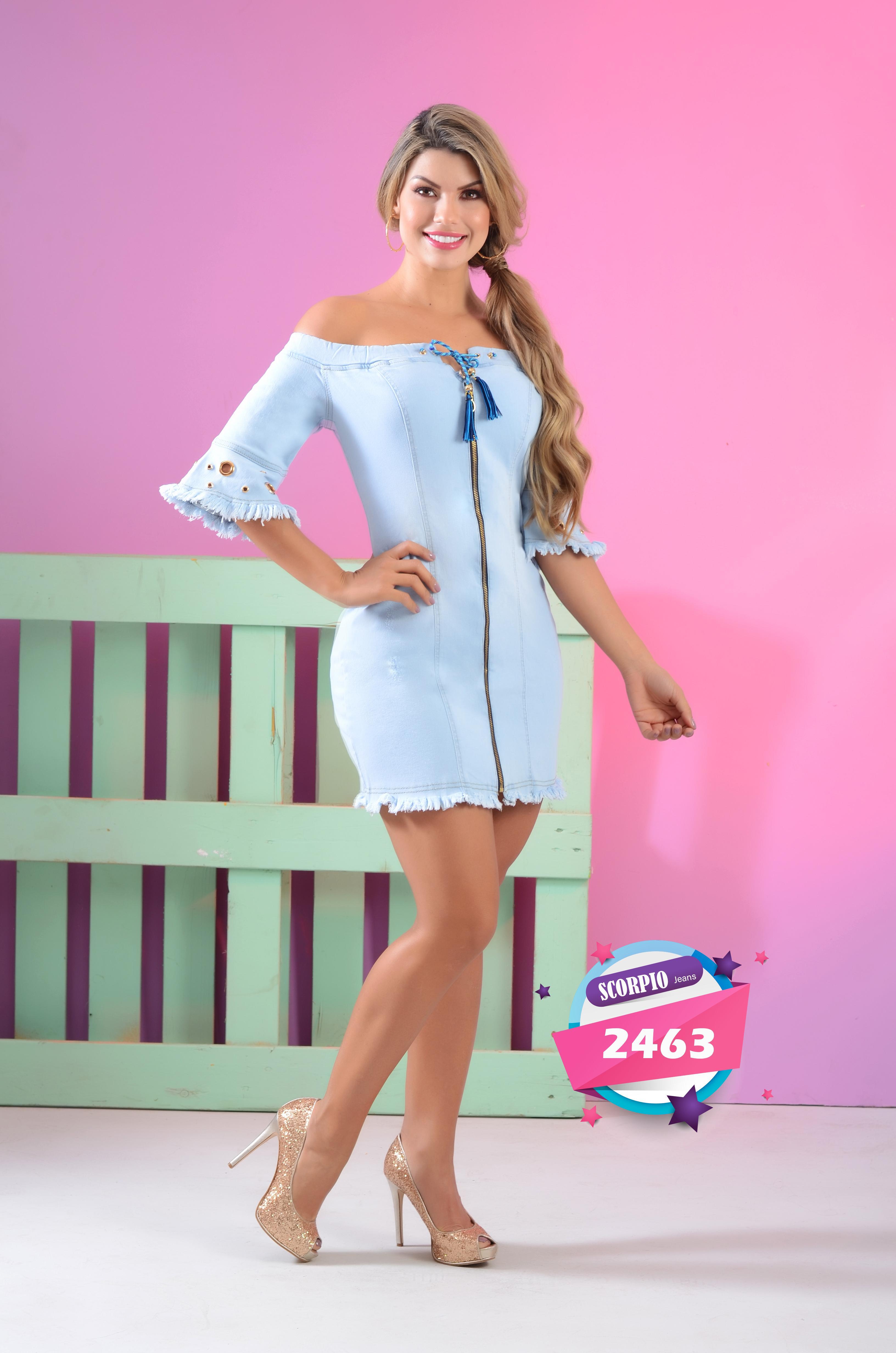 Hermoso Vestido Colombiano de Moda