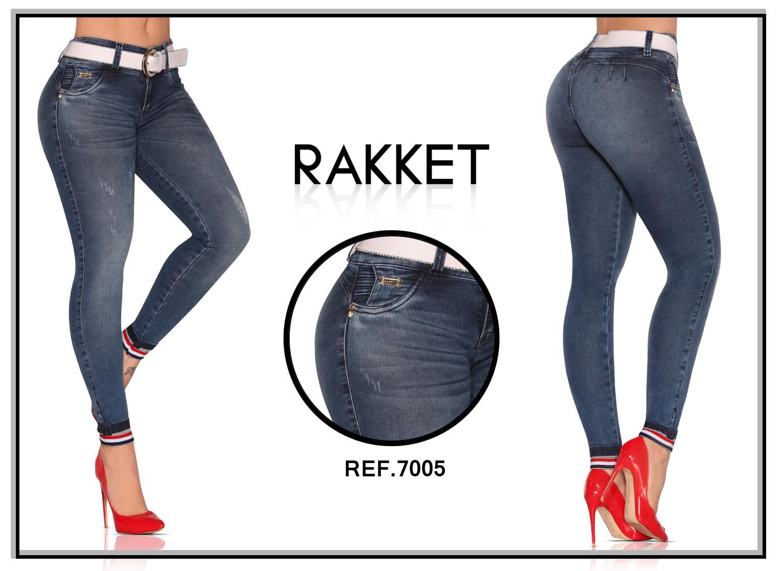Jeans Colombiano de Moda 100% Levantacola