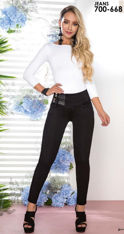 Pantalon Jean De Moda Colombiana Levantacola