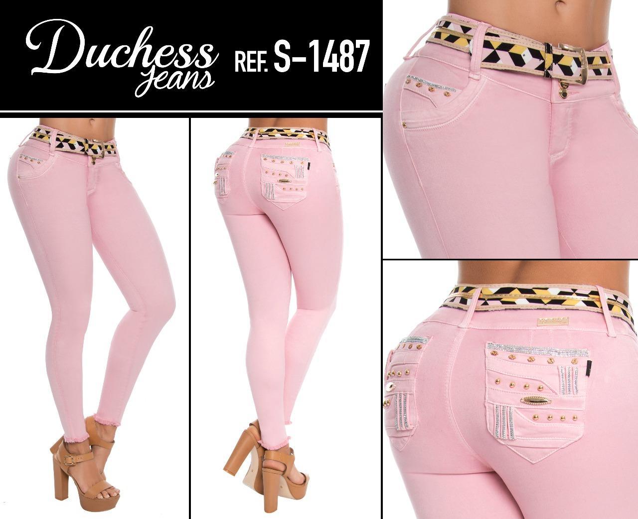 Pantalon De Jean De Boutique Diseño Levantacola
