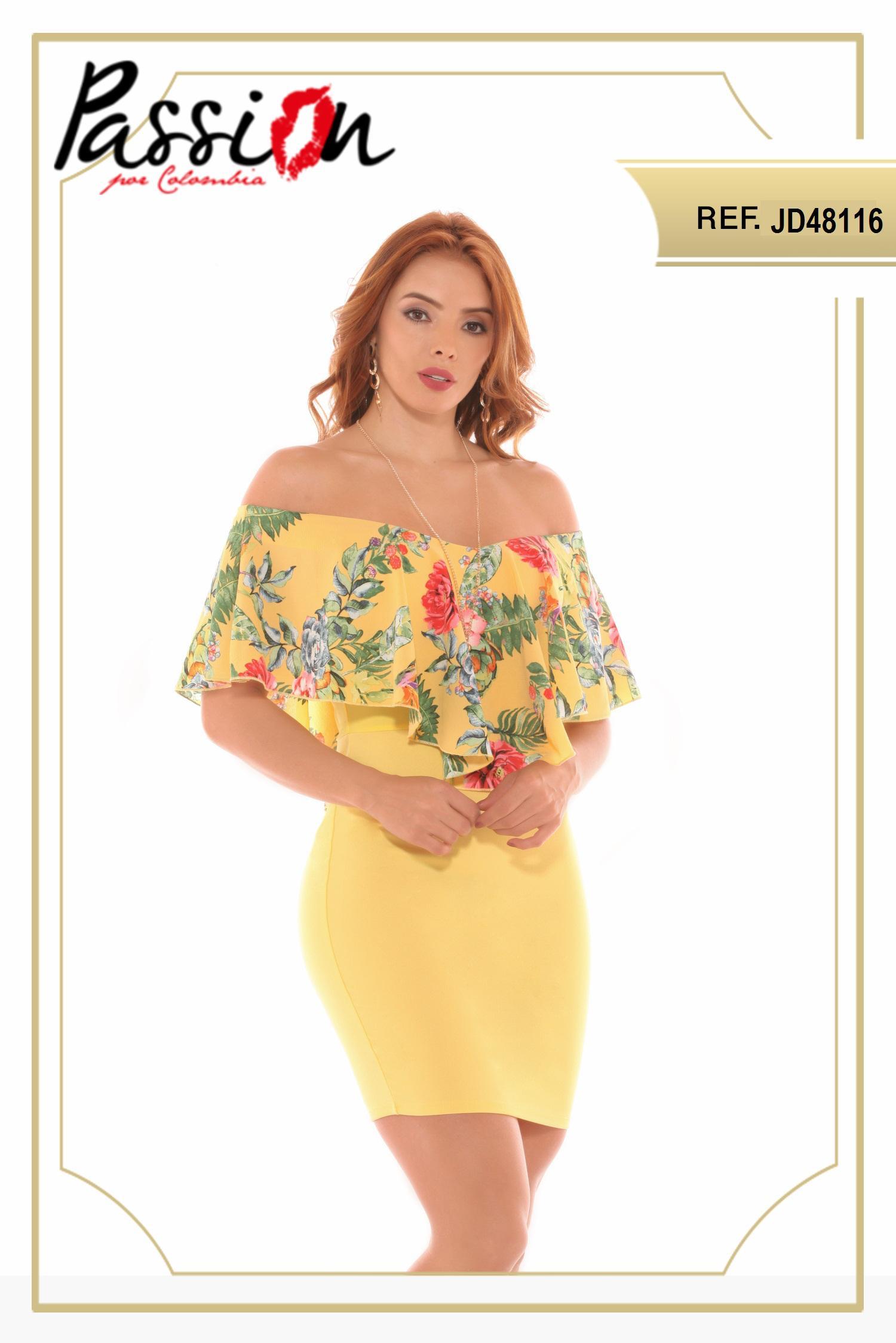 Vestido a rayas corto para dama tallas especiales