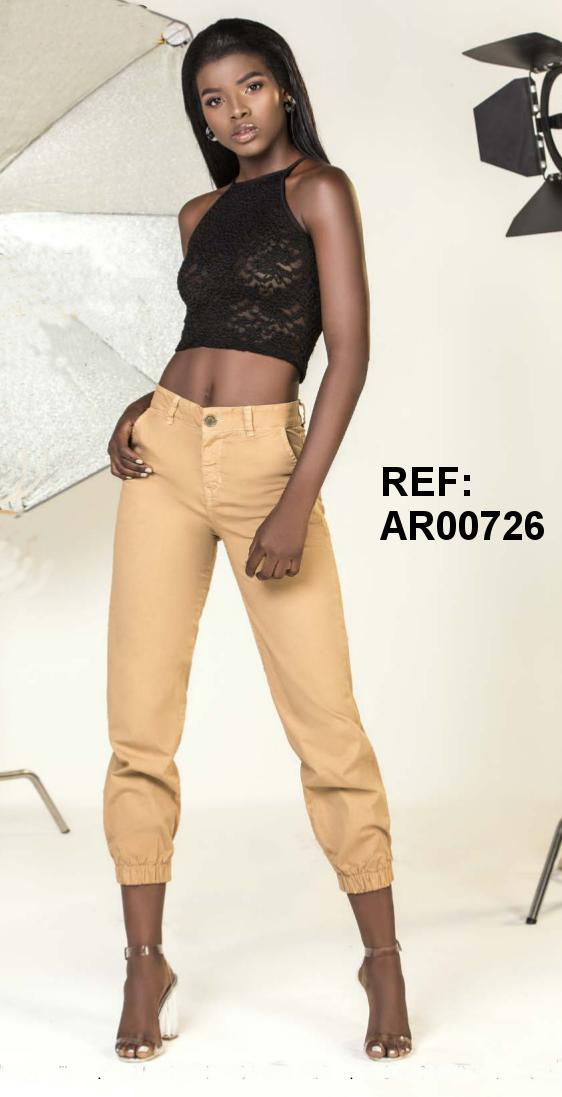 Pantalon Colombiano de Moda Elaborado en Tela