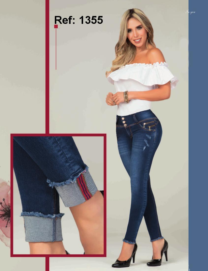 Hermoso Pantalon Jean Horma Levantacola Elaborado en Colombia