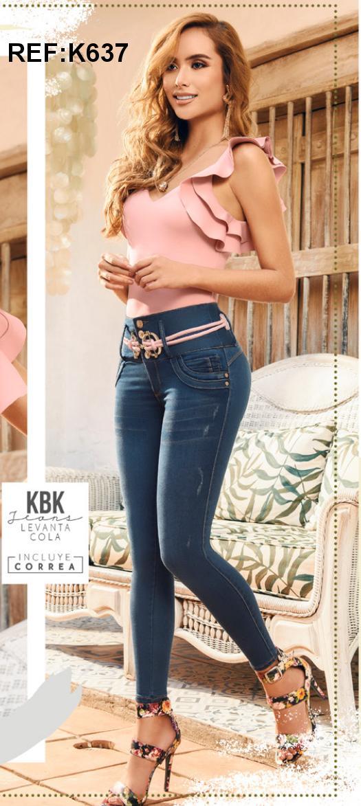 Pantalones para dama Vaqueros de Moda Colombiana