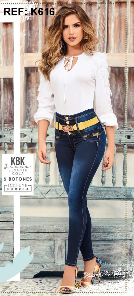 Pantalones Jean figura perfecta hechos en Colombia