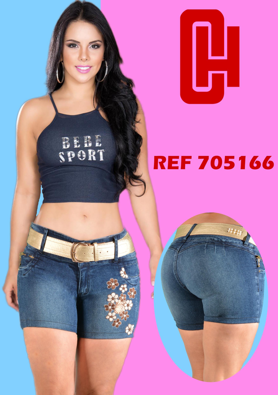 Short en Jean Colombiano Push up