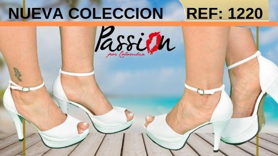 Zapatos Blancos Colombianos primavera verano