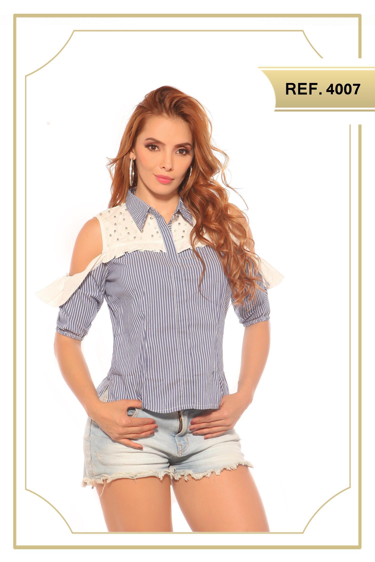 Blusa Moda Colombiana Hombros Desnudos