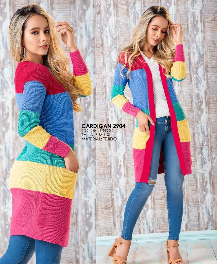 Cardigan Hecho en Colombia Moda de Temporada