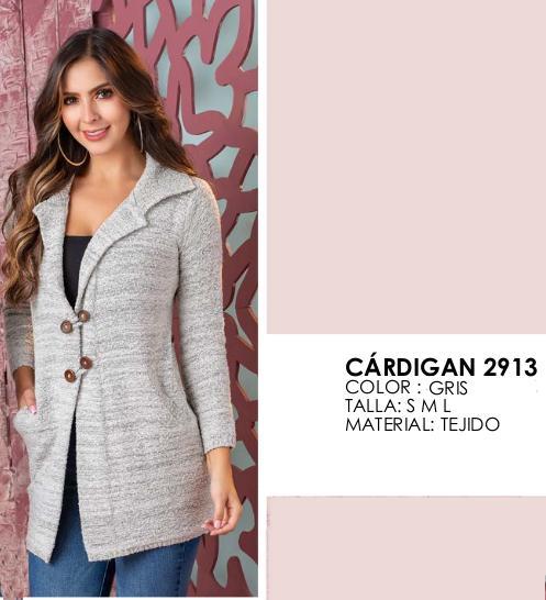 Cardigan para Dama Tejido Artesanal hecho en Colombia