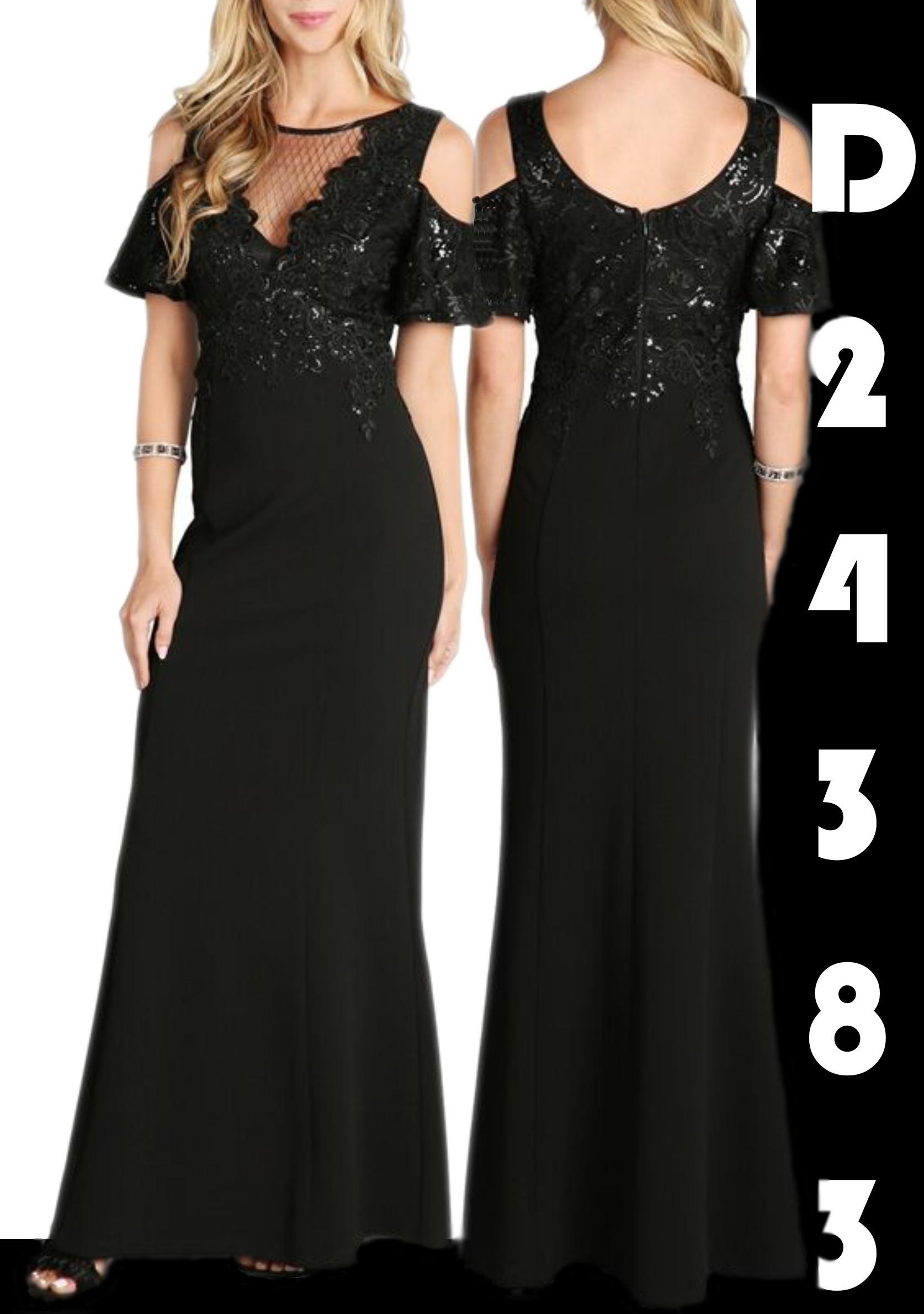 Vestido americano Largo de Fiesta diseño exclusivo