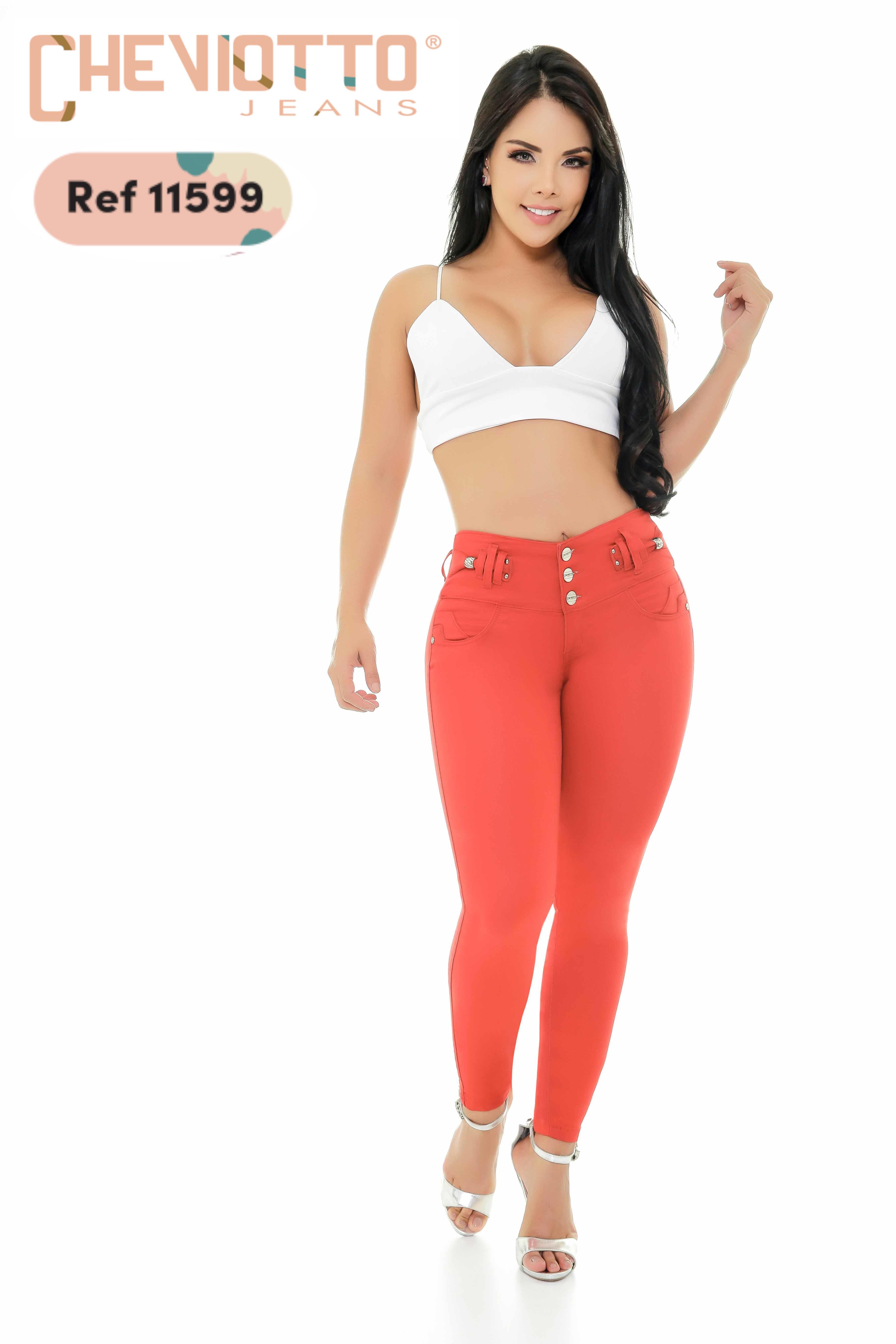 Jean Push Up Colombiano de Moda original Cheviotto