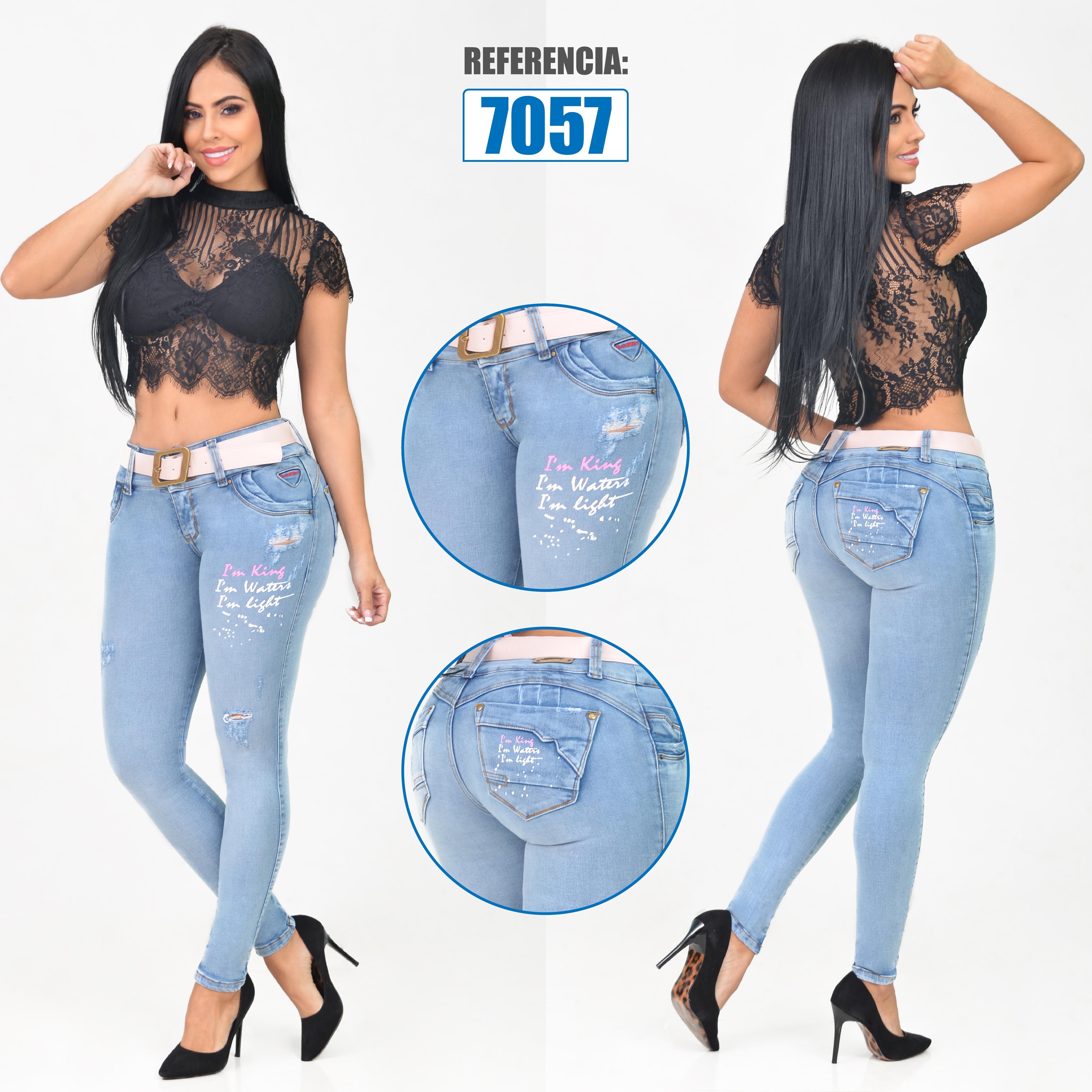 Jean Push Up Ajuste Perfecto de Moda