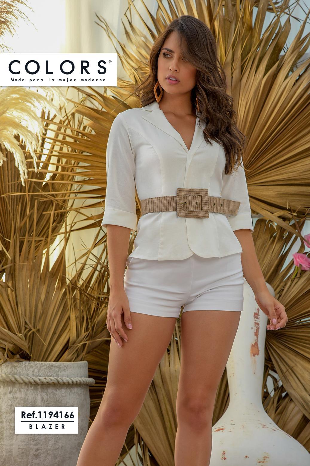 Blusa Colombiana con Mangas hasta el antebrazo y decorado cinturon