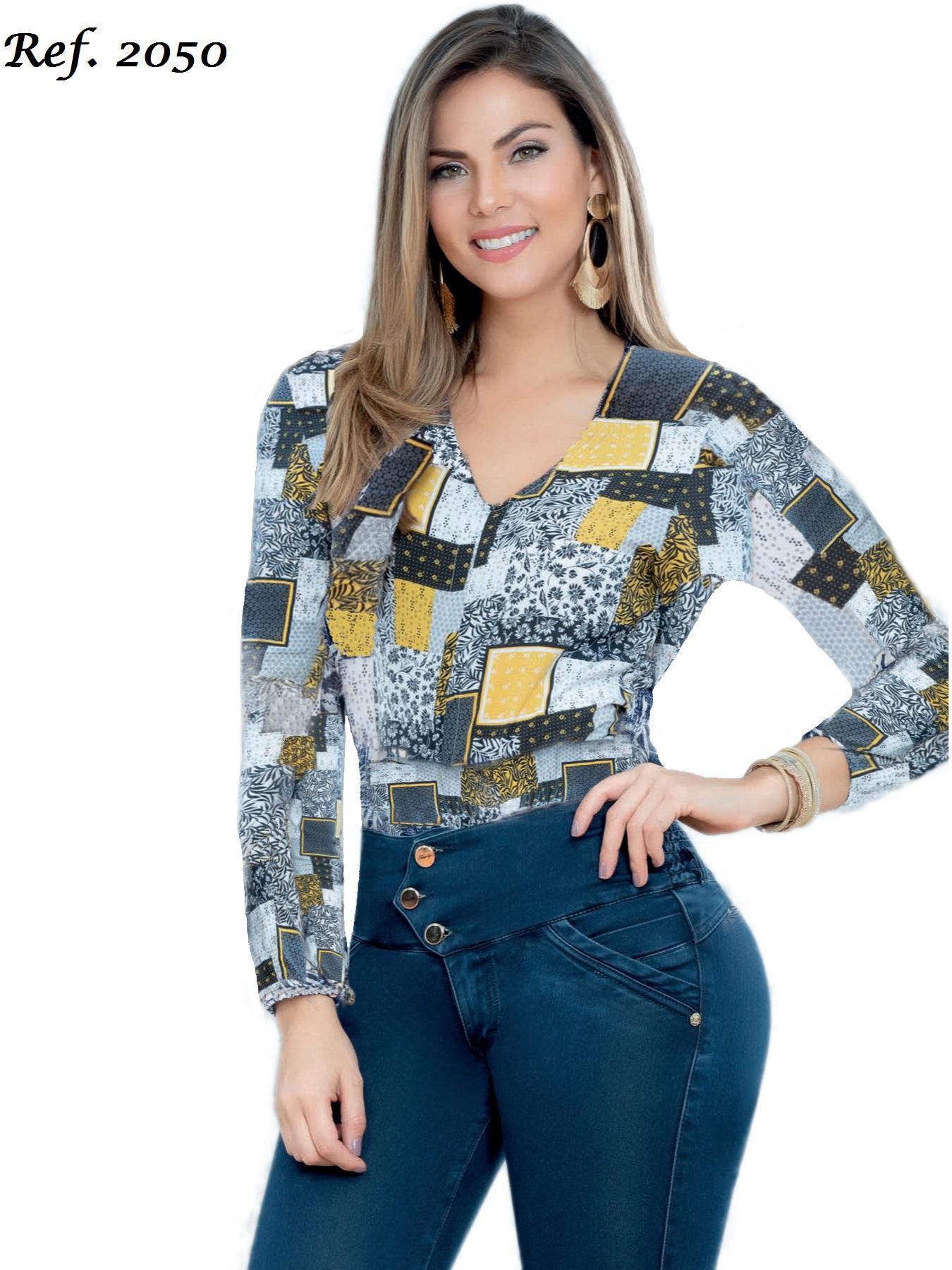 Blusa Moderna y elegante hecha en Colombia