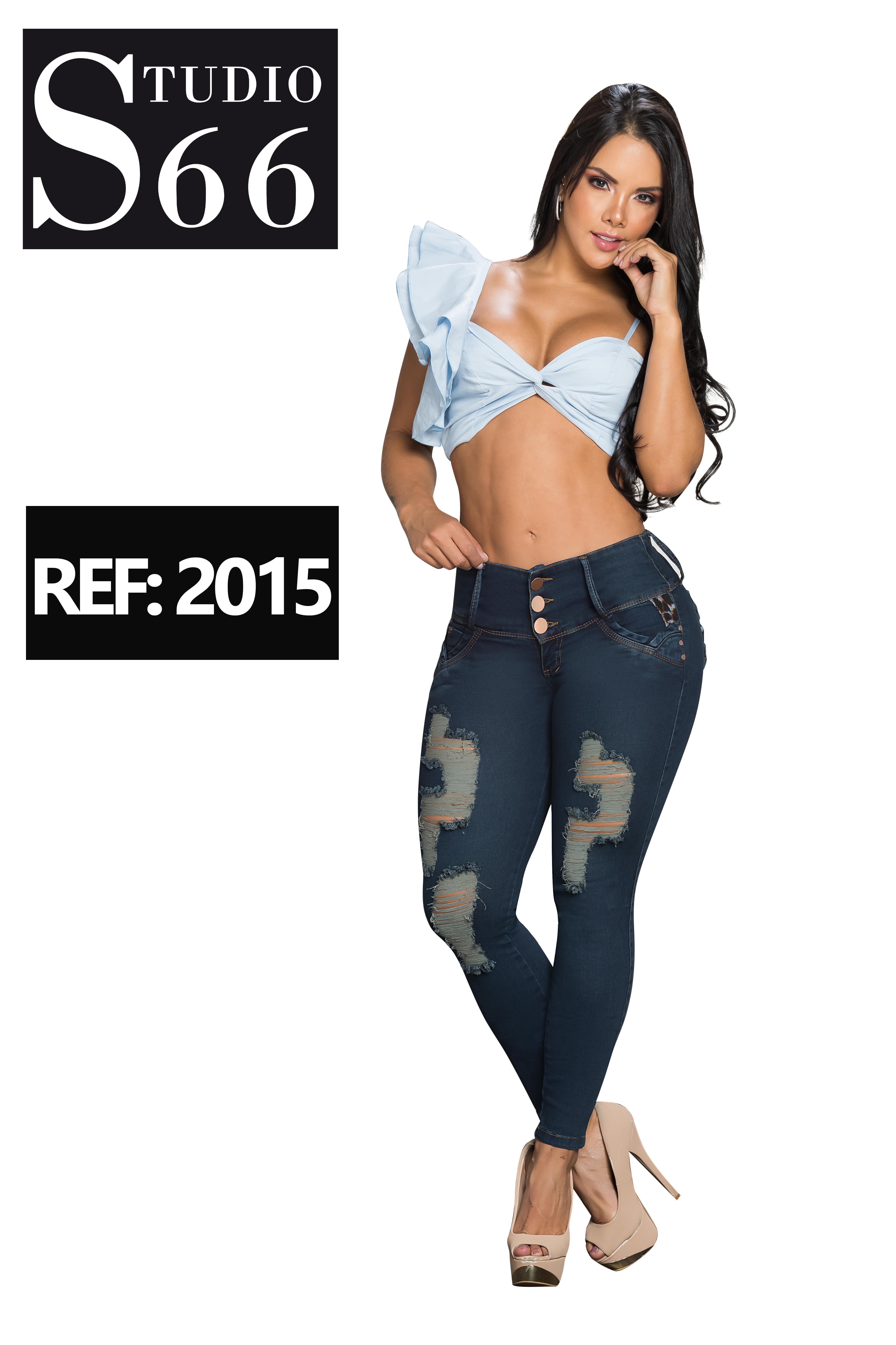 Jean Push Up Colombiano de Moda