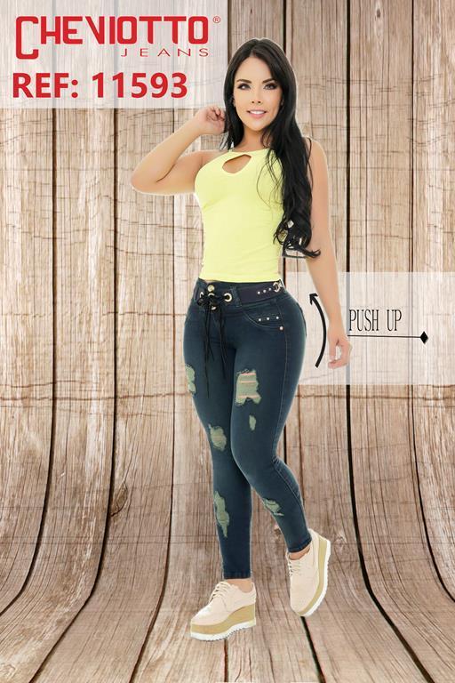 jeans de moda push up