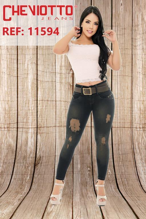 jeans de moda estilizado