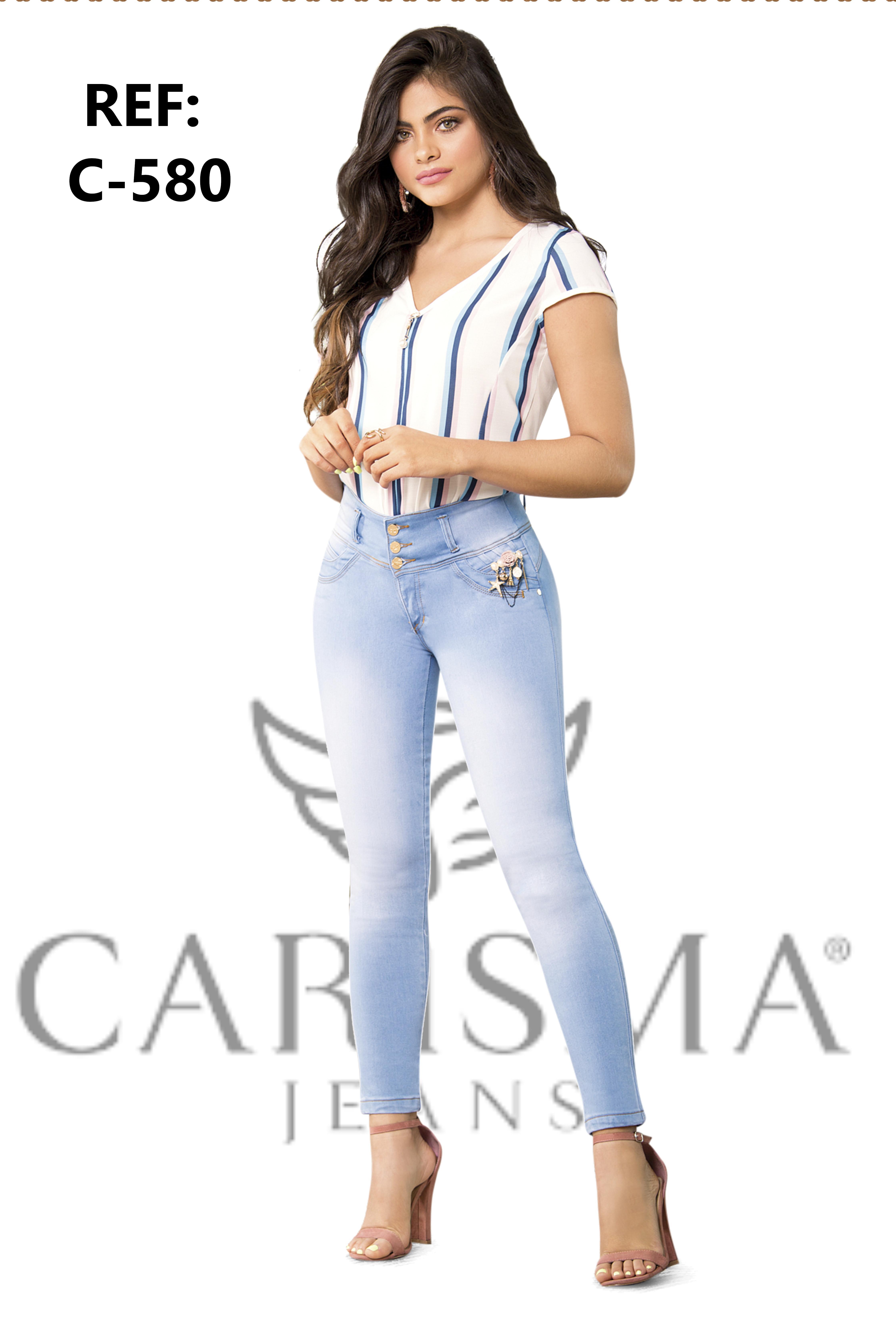 Pantalon para dama vaquero Levanta Cola Colombiano