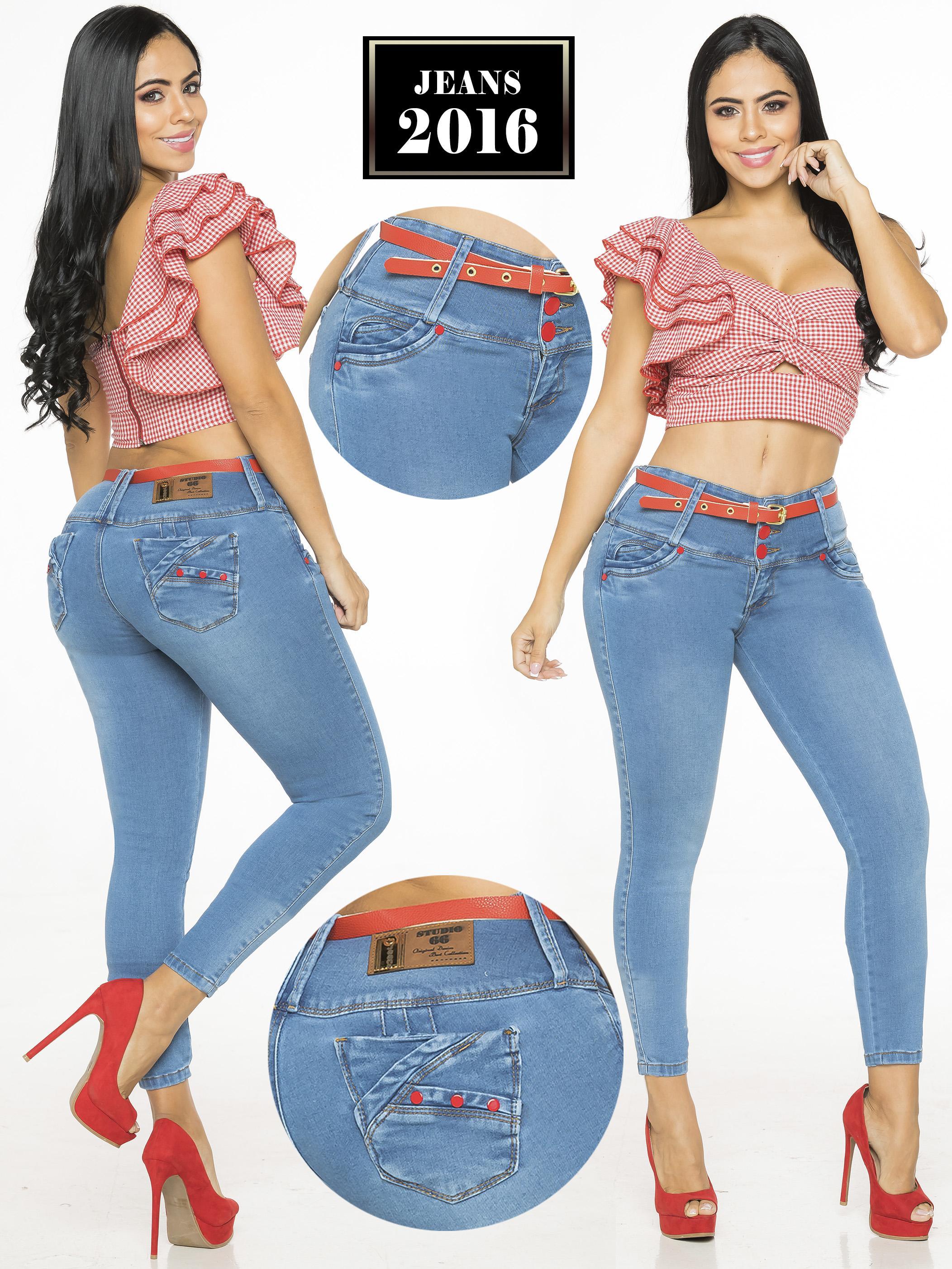 Jeans Push Up Colombiano de Moda horma perfecta