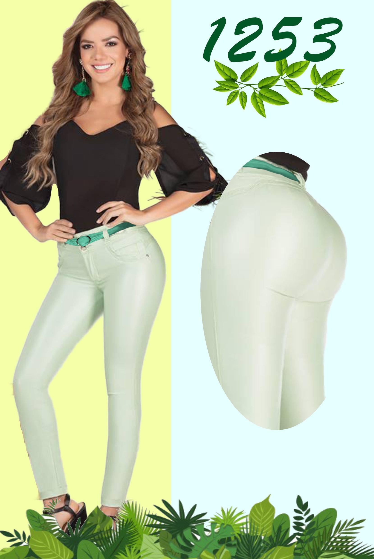 Pantalon Dama Estilo Cuerina