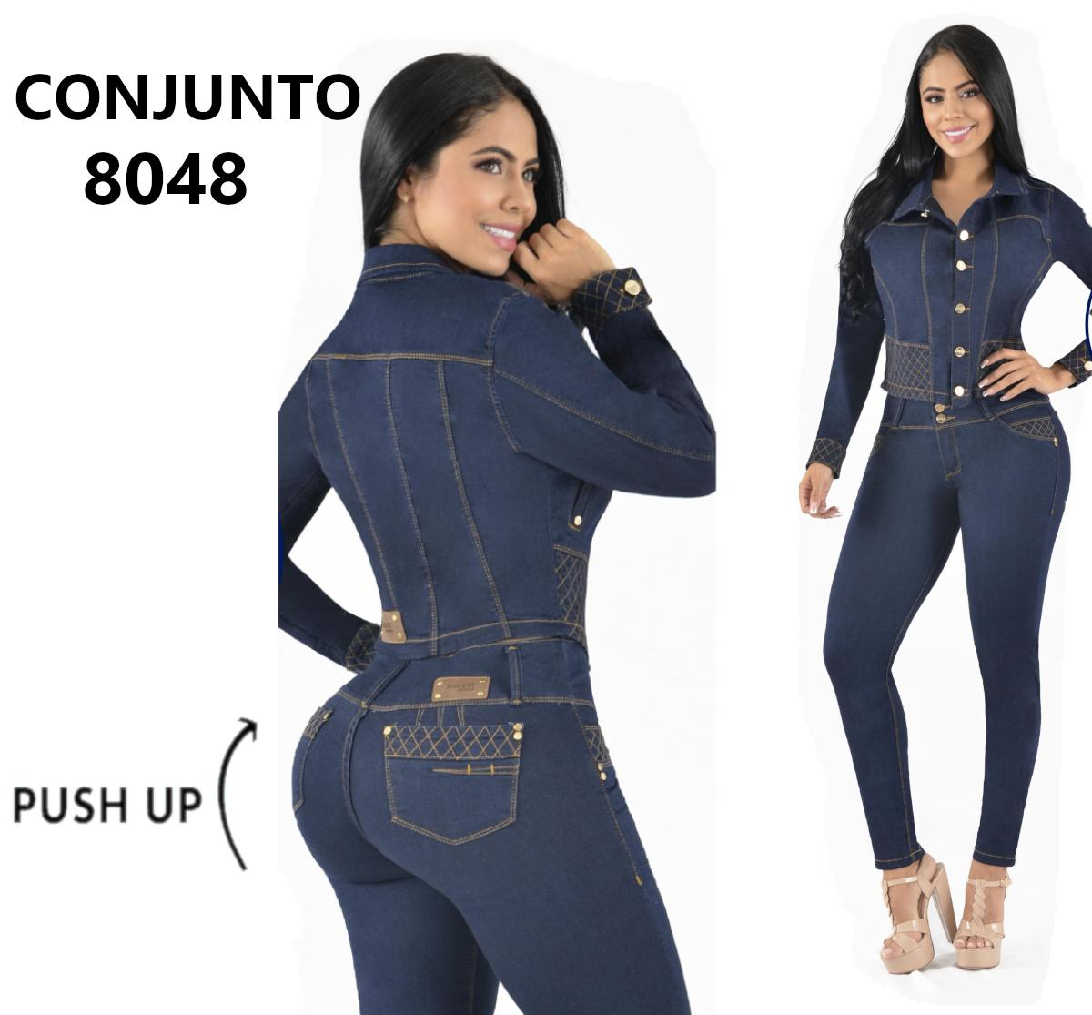 Conjunto Colombiano de Moda Pantalon y Chaqueta