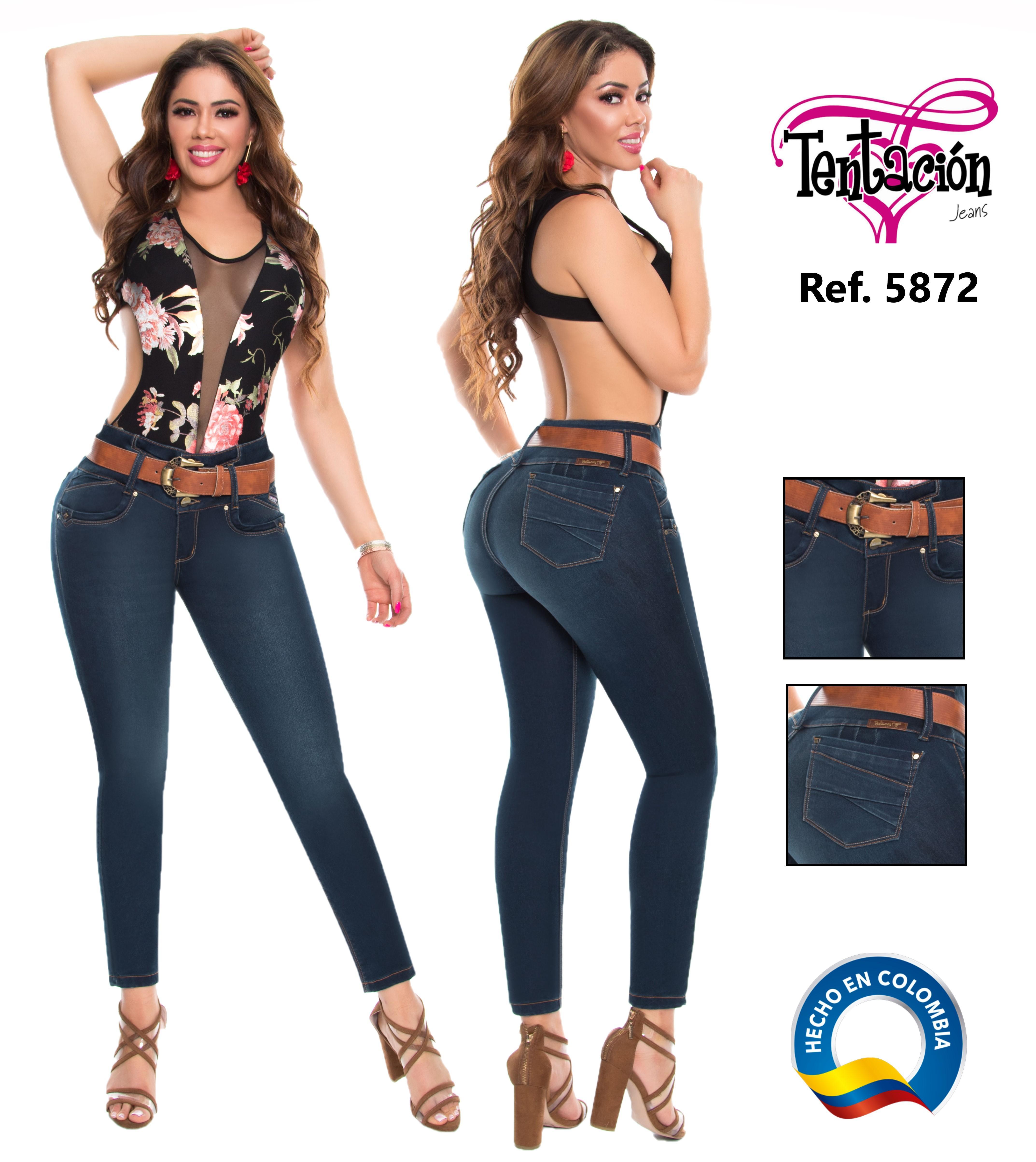 Vaquero jean colombiano push up de moda