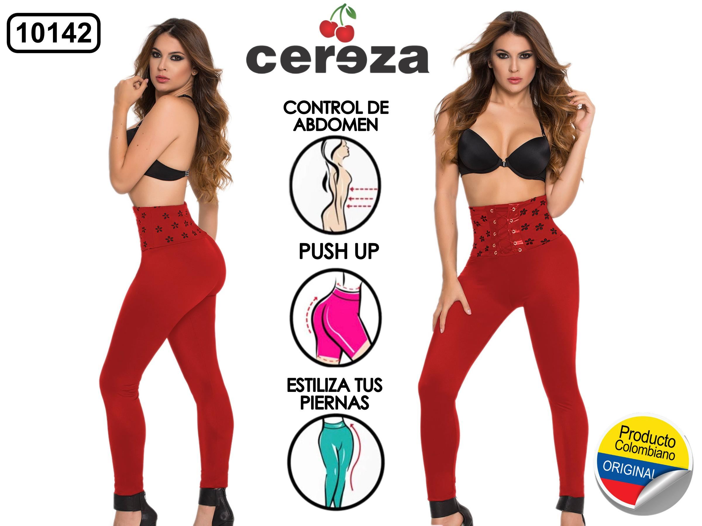 LEGGINGS COLOMBIANO CEREZA