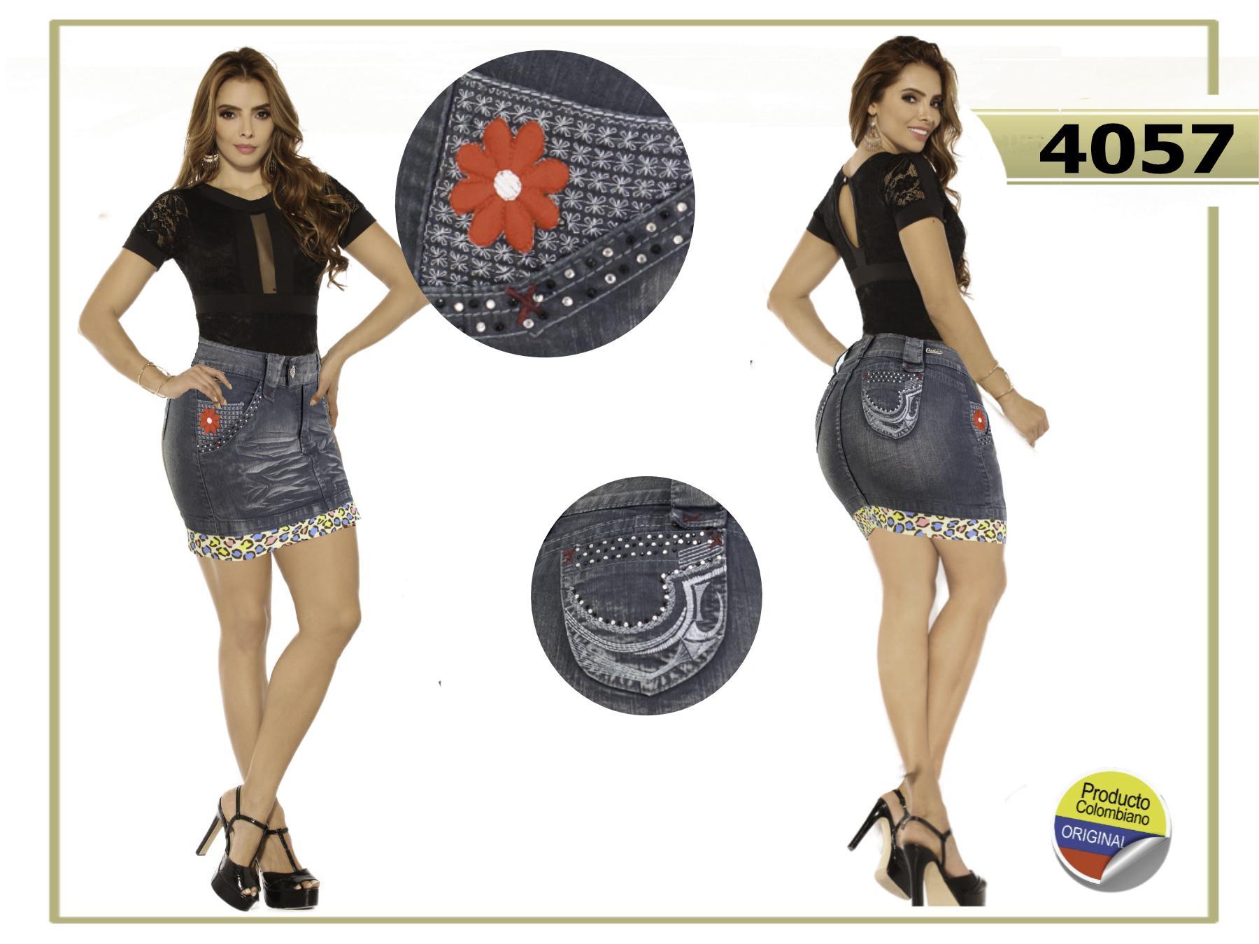 Minifalda dama