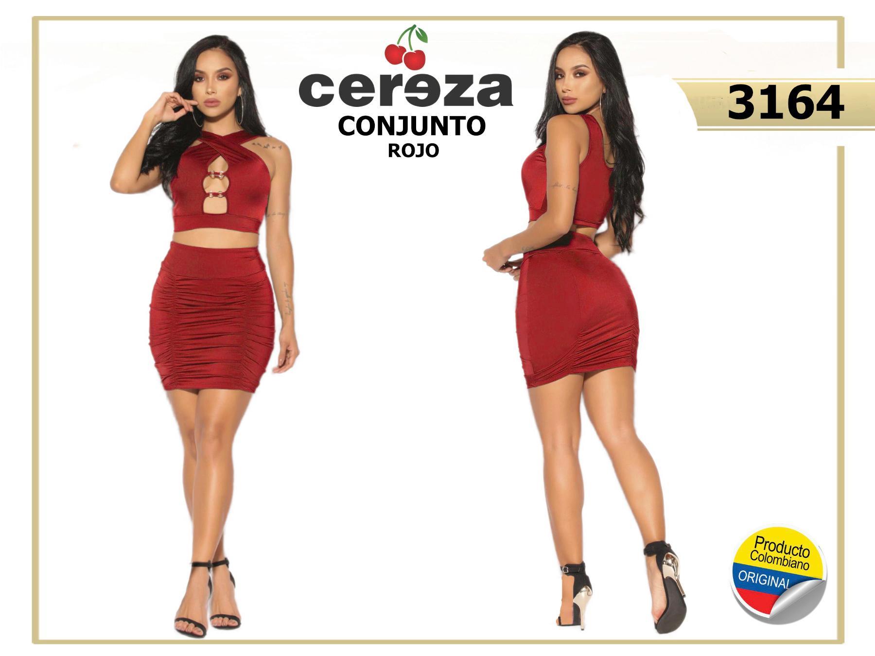 Sexi conjunto colombiano mini falda