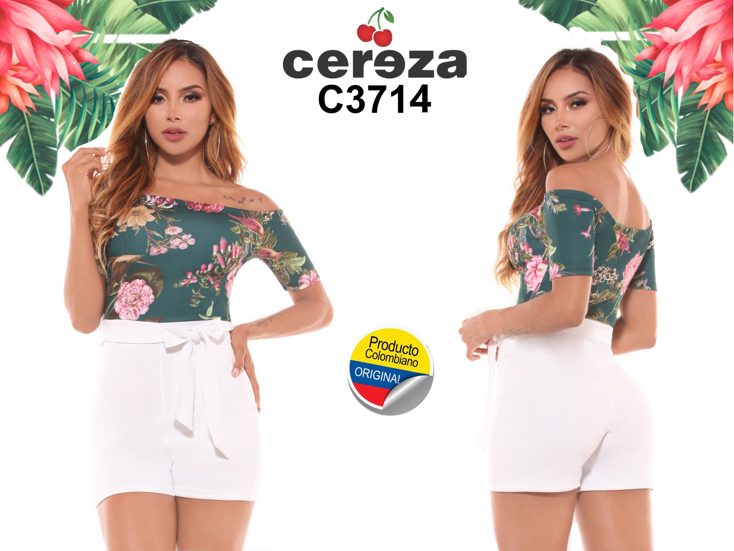 Conjuntos Short de primavera Hechos en Colombia Tela Ligera y Fresca
