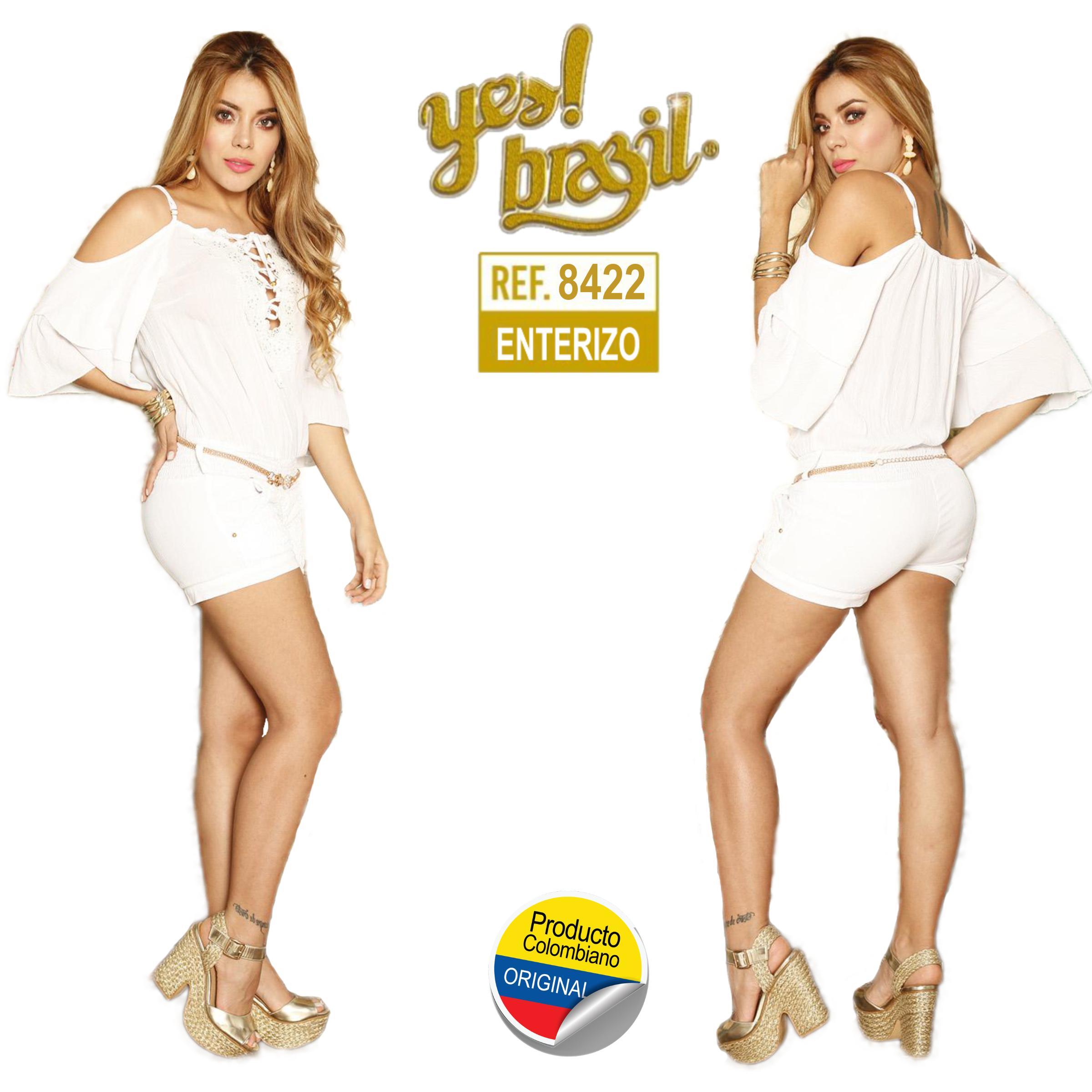 ENTERIZO SHORT COLOMBIANO YEZ BRASIL