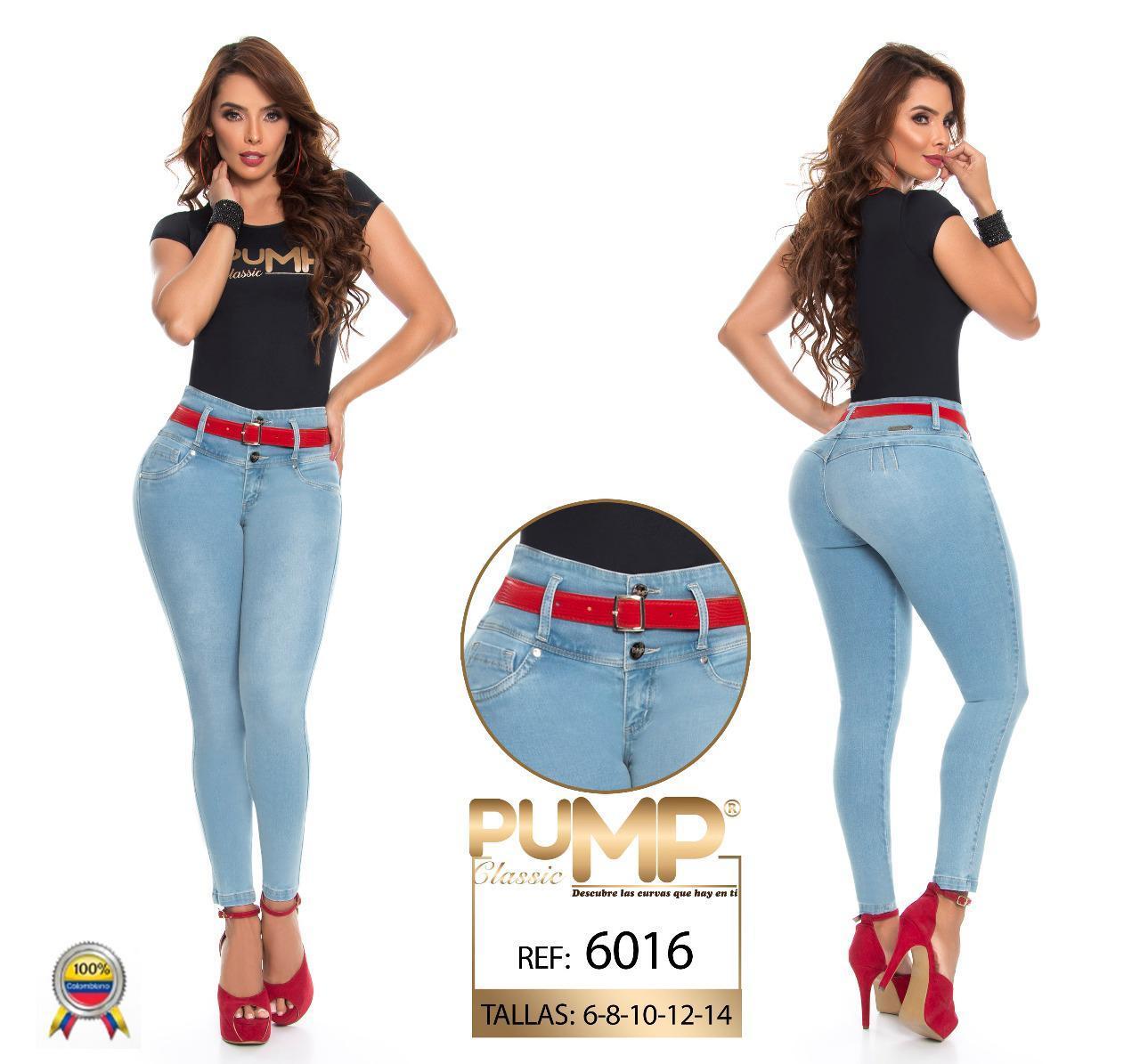 Jean vaquero colombiano de moda push up