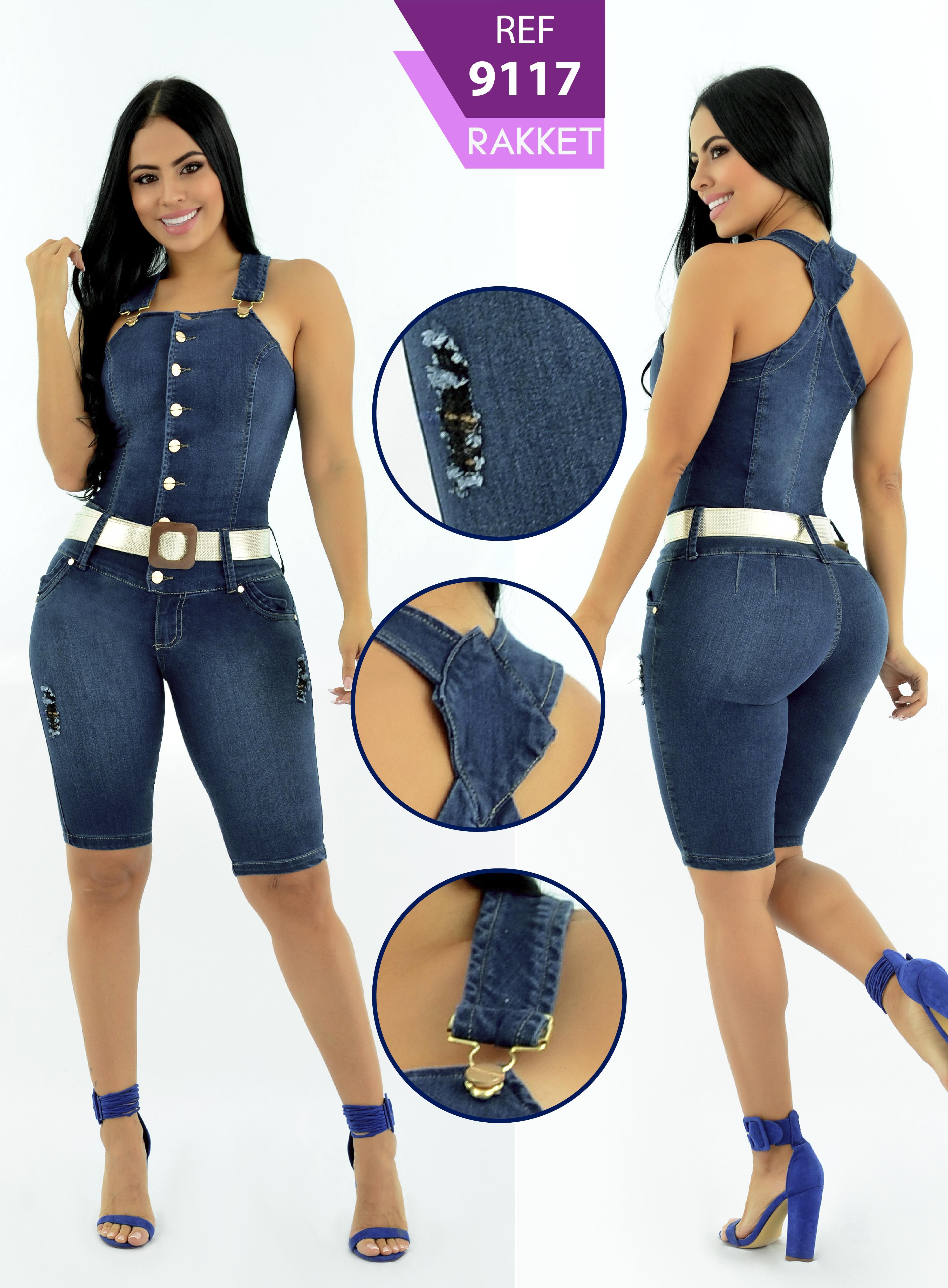 Enterizo colombiano corto nueva moda