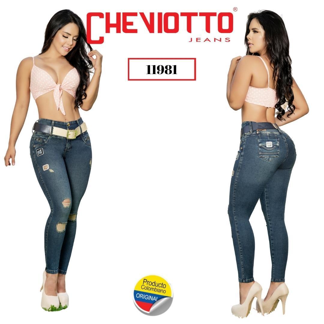 Jean vaquero colombiano marca CHEVIOTTO