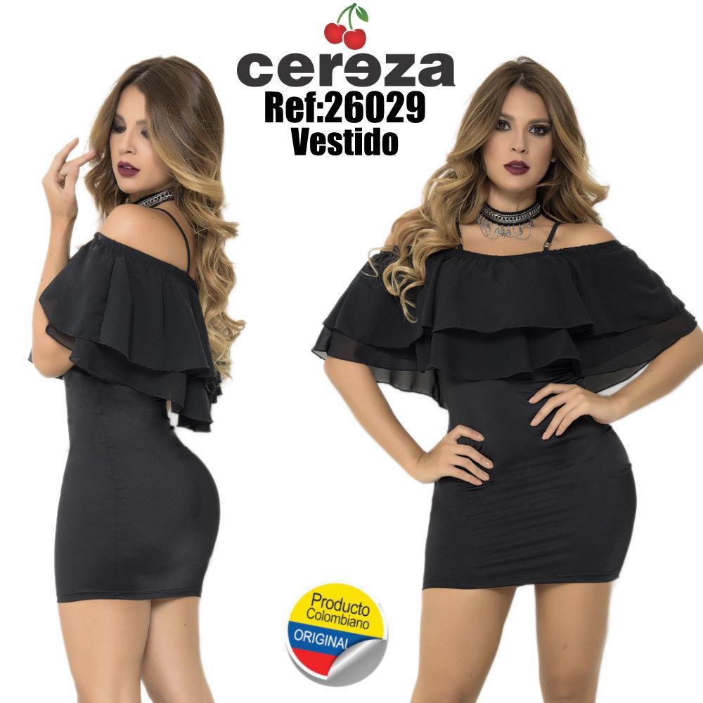 VESTIDO CASUAL SEXY MANGA CORTA