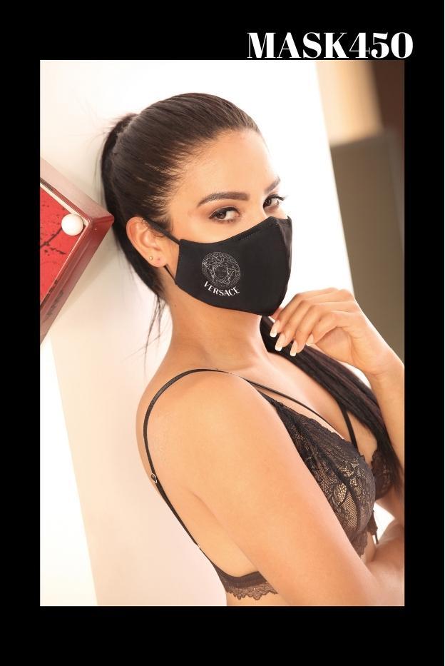 Mascarilla de Protección Fashion estampado Versace
