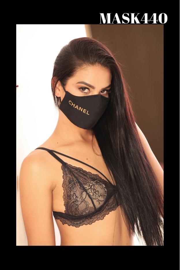 Mascarilla Protección Fashion estampado Channel