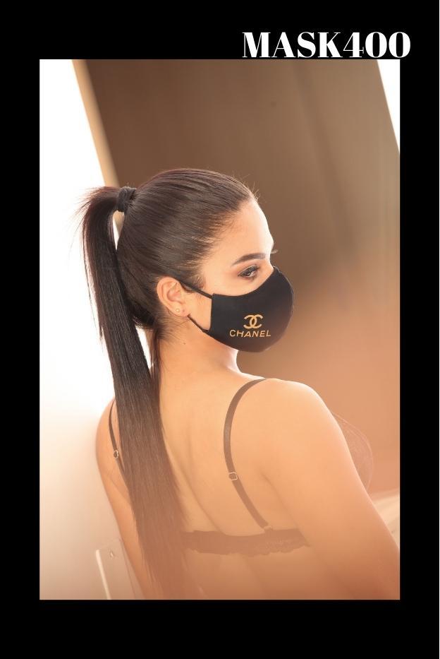 Mascarilla protección Fashion Channel Negra
