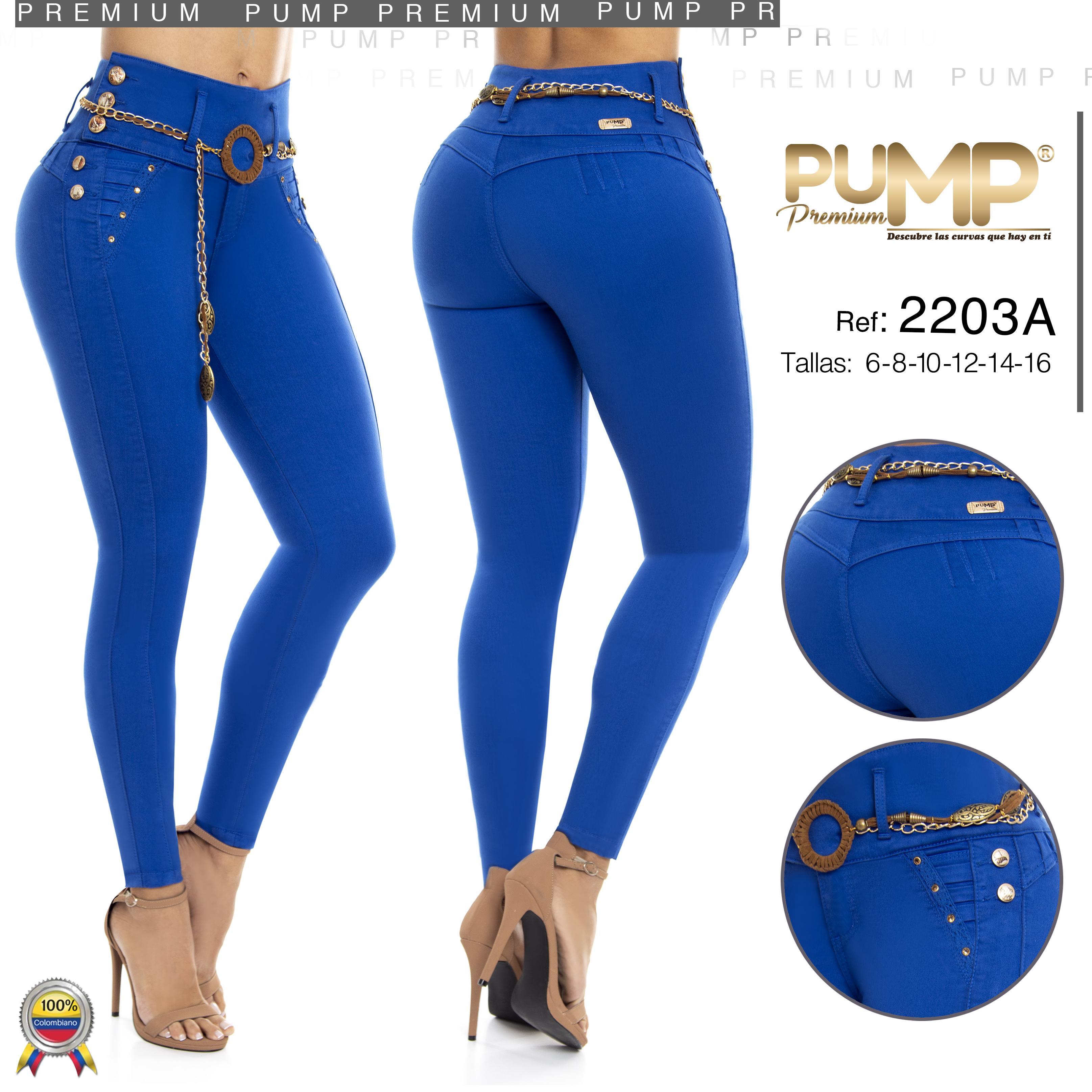 Jeans colombianos push up de moda